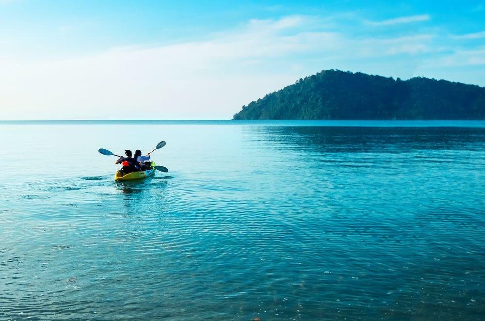 Kayaking in Koh Chang