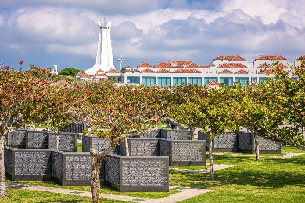 Peace Memorial Museum in Okinawa Honto