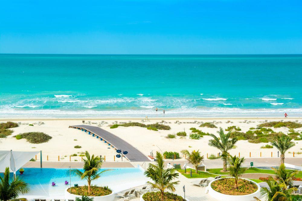 Saadiyat Beach view