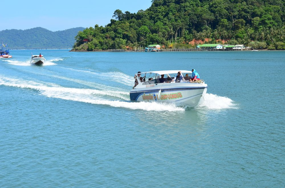 Speed Boat in Koh Chang