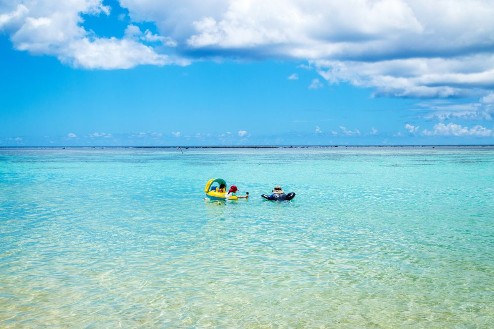 Snorkelling at Ypao beach in Tumon bay