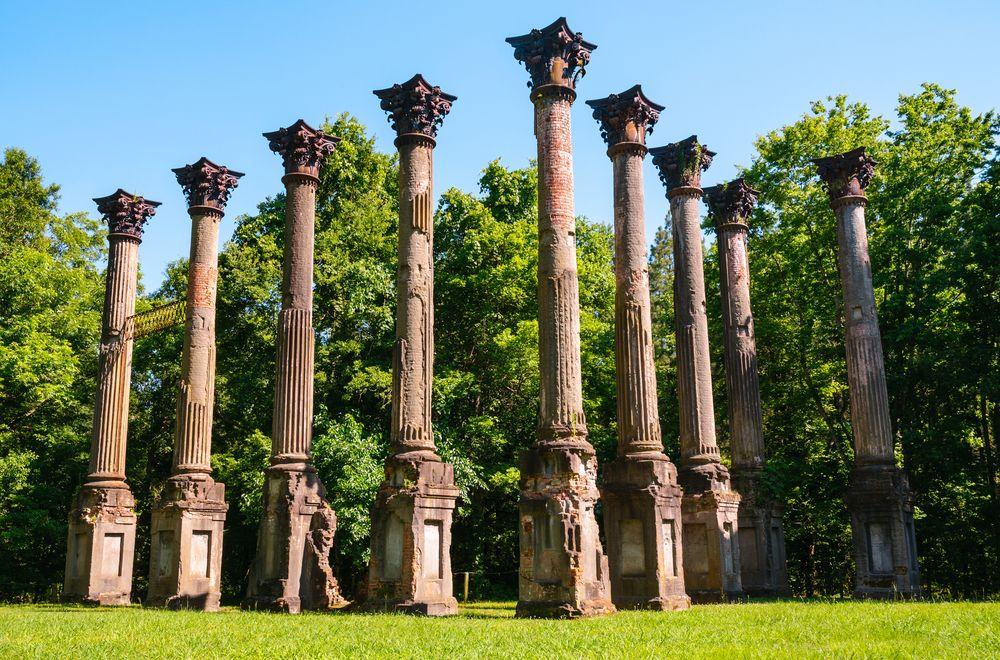 Windsor ruins in Port Gibson