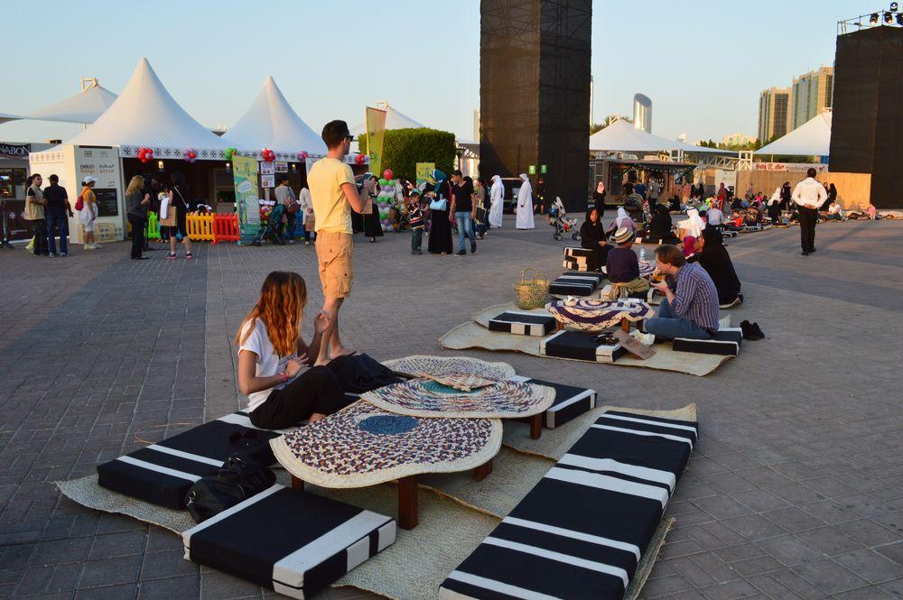 Streetfood in Abu Dhabi