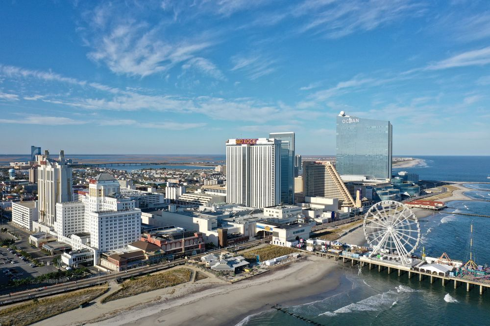 View of Atlantic City from Above