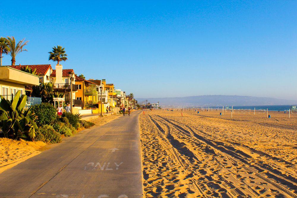Venice Beach beach path