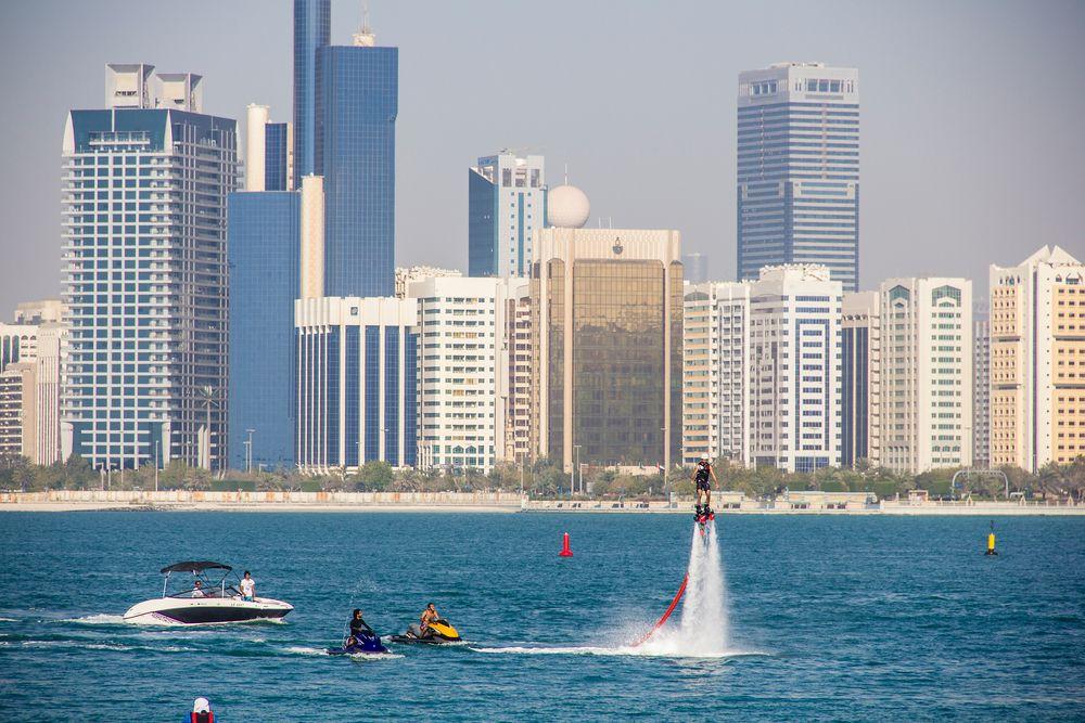 Water jetpack Abu Dhabi