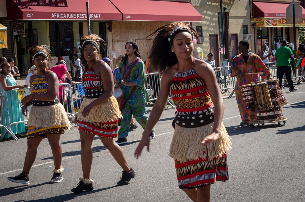 African American day parade in Harlem