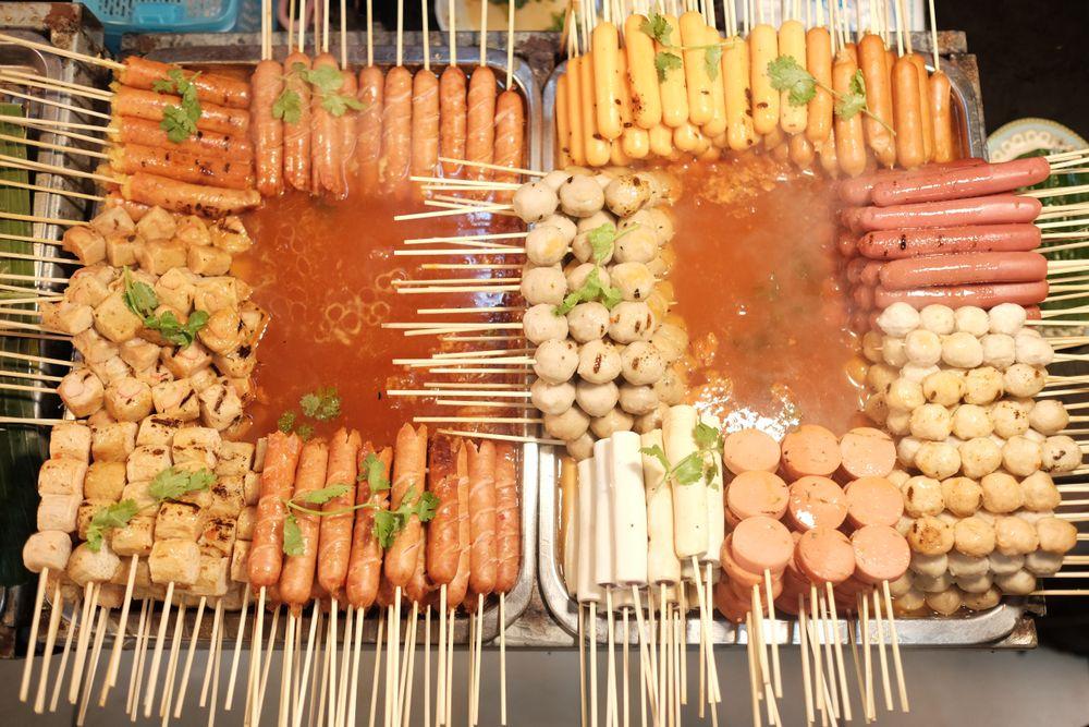 Food at Asean Night Bazaar