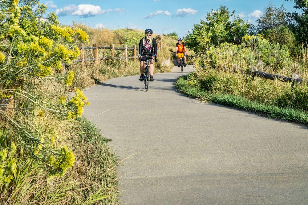 Bike ride in Windsor