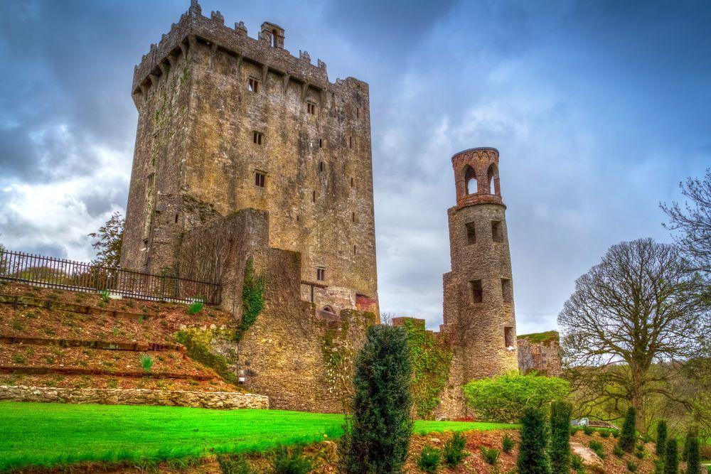 Blarney castle and garden
