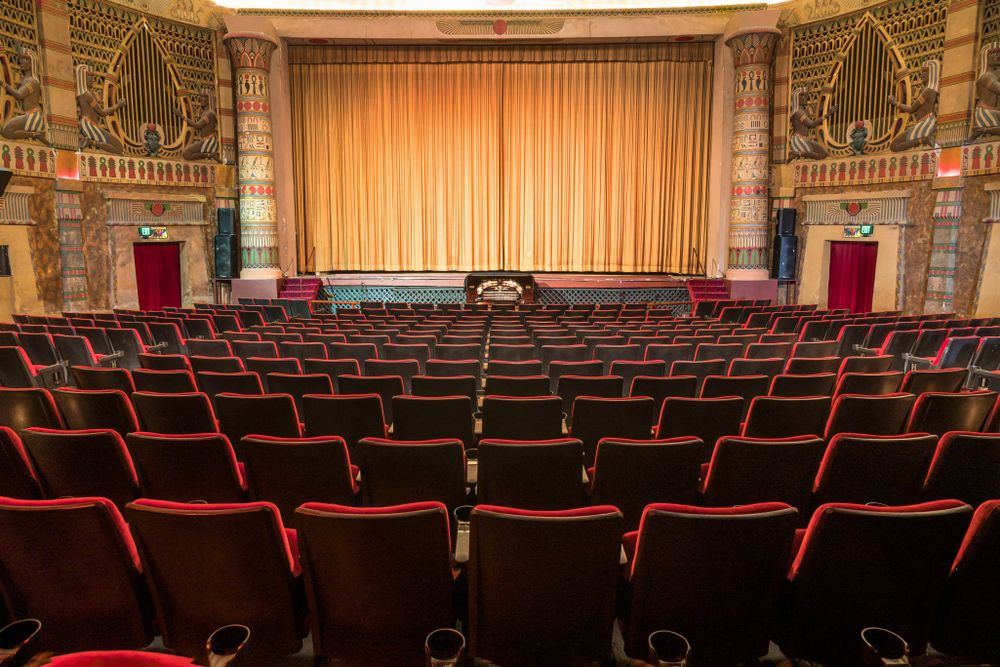 Interior of Egyptian Theatre