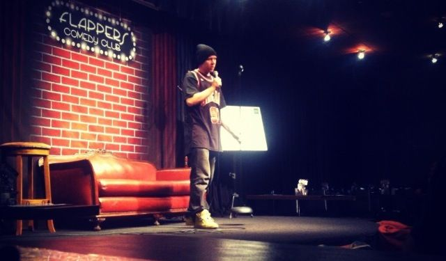 Performance at Flappers Comedy Club