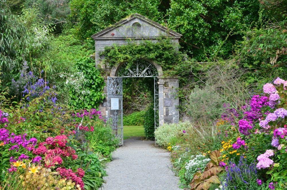 Garden in Garnish island