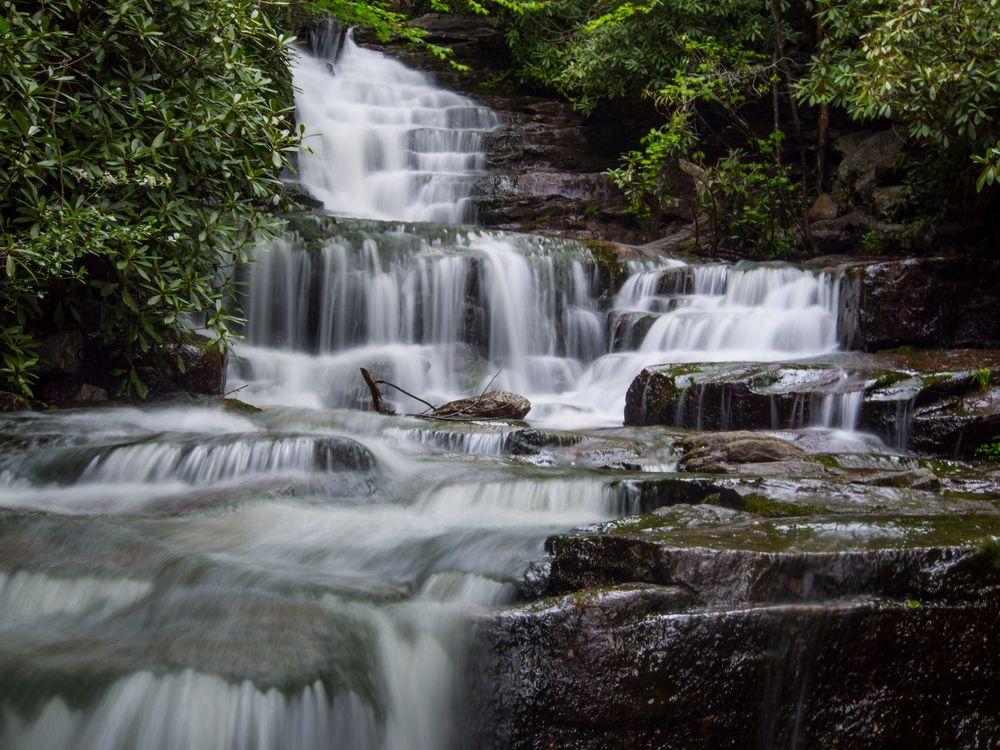 Glen Onoko Creek Cascade
