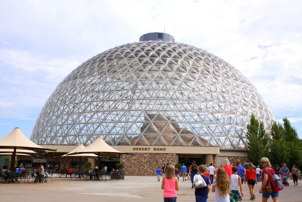 Desert Dome in Henry Dearly Zoo