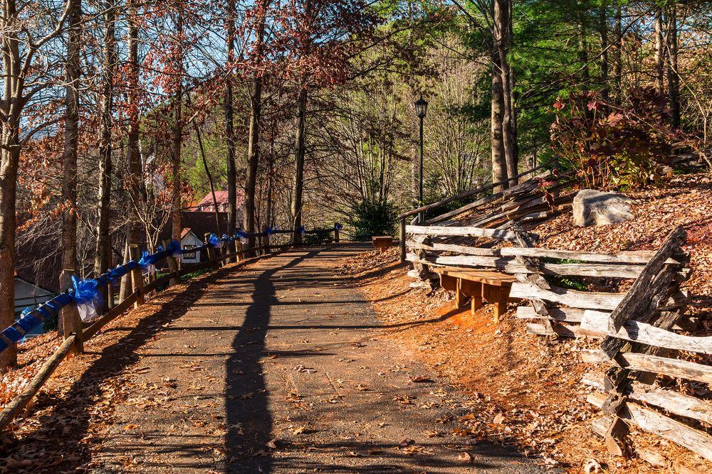 Hiking Trail in Helen