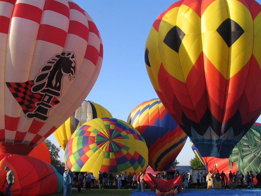 Hot air balloon ride in Walla Walla
