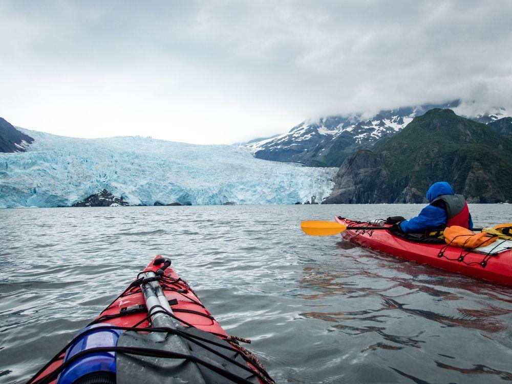 Kayaking in Seward
