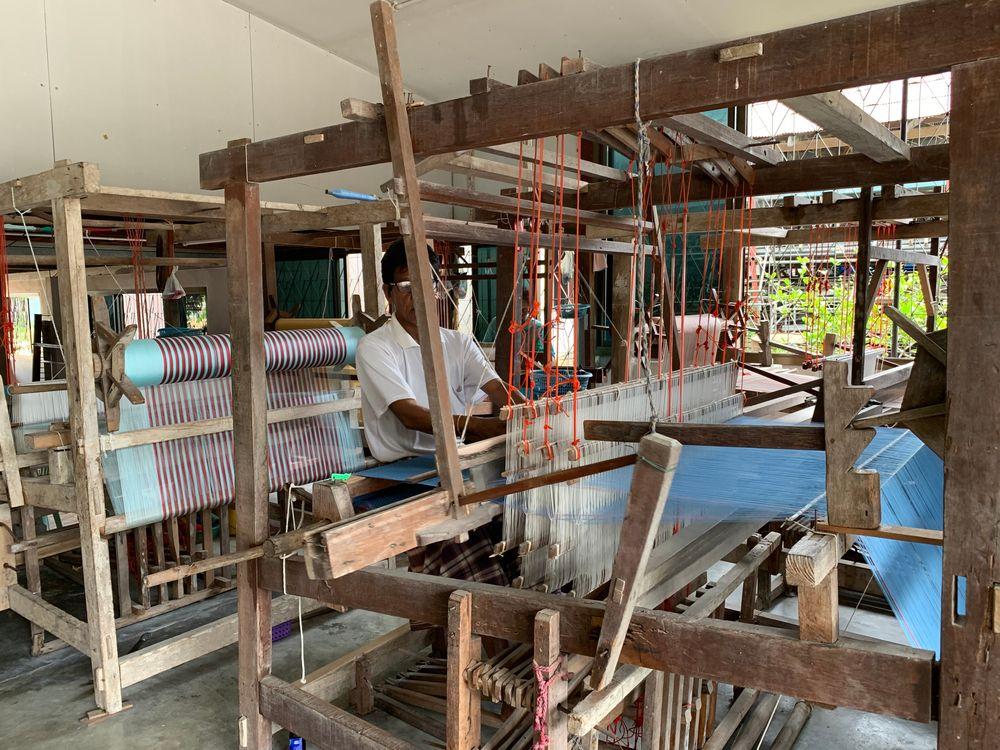 Weavers in Ko Yo Island