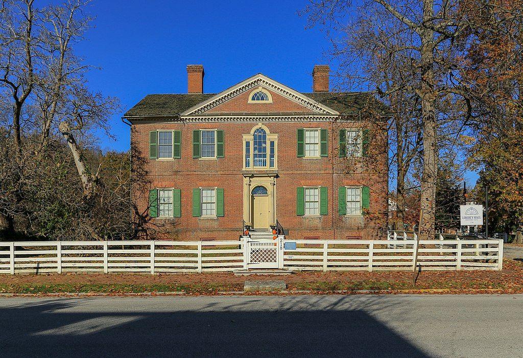 Liberty hall historic site