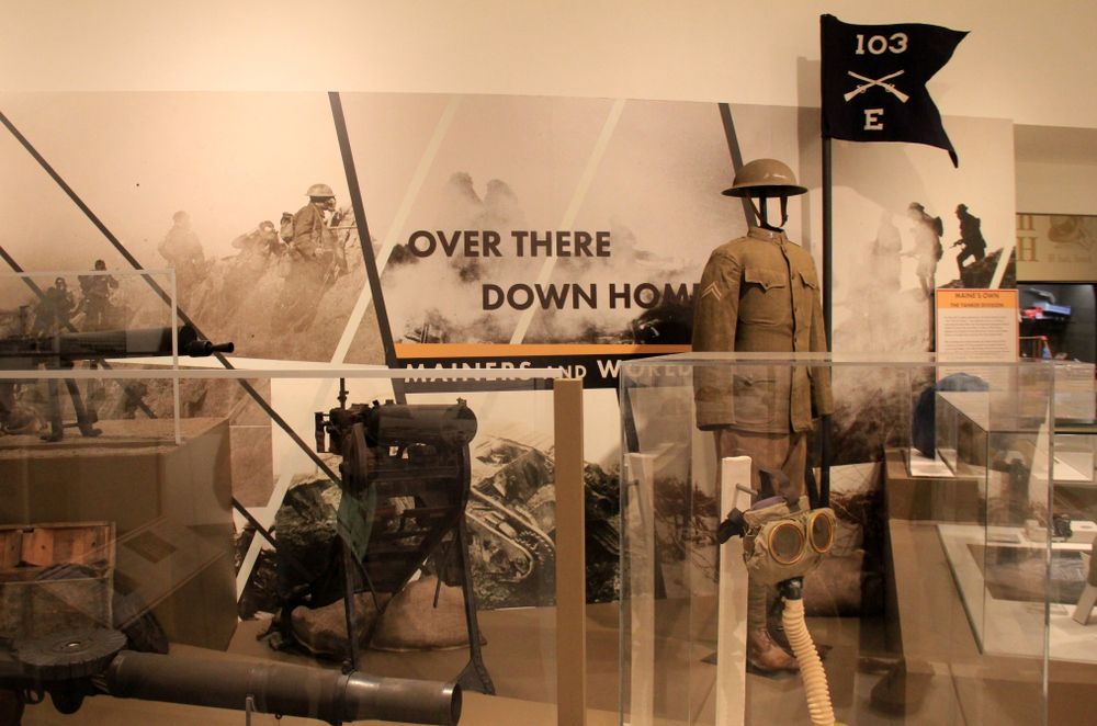 Display at Maine State Museum