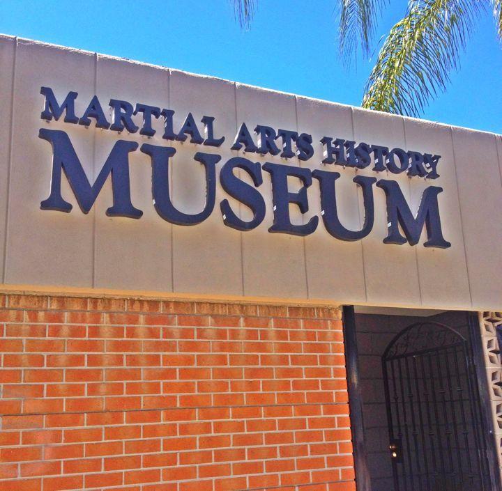 Martial arts history museum in Burbank