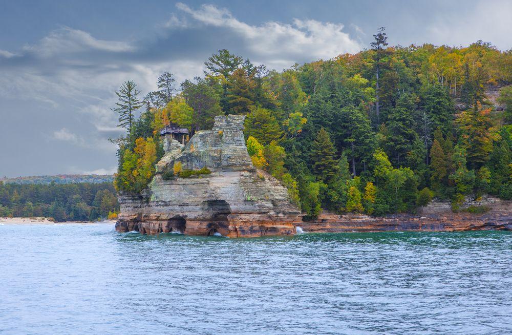 Miners Castle Rock
