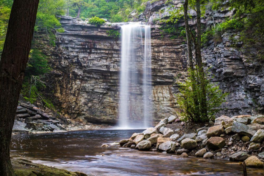 Falls in Minnewaska State Park