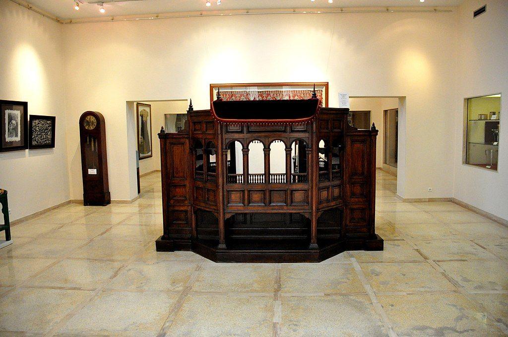 Display at Moroccan Jewish Museum