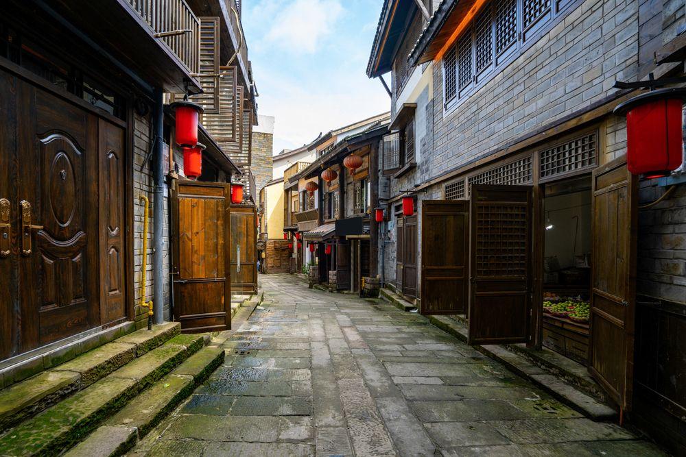 Streets in Nanshan