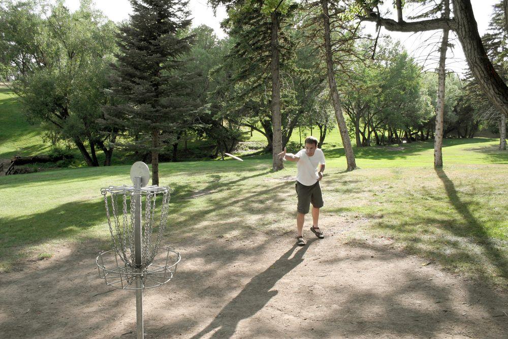 Frisbee Golf at Pioneer Park
