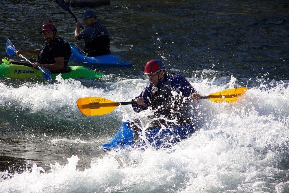 Kayakers in San Marcos River