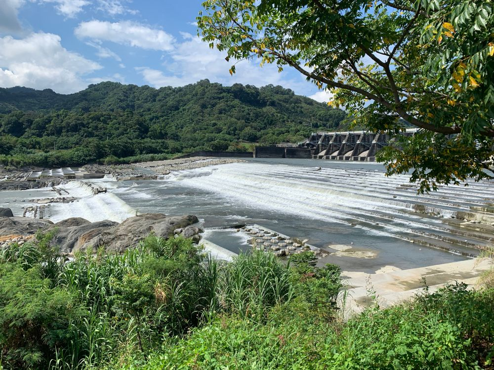 Shigang Dam in Fengyuan District