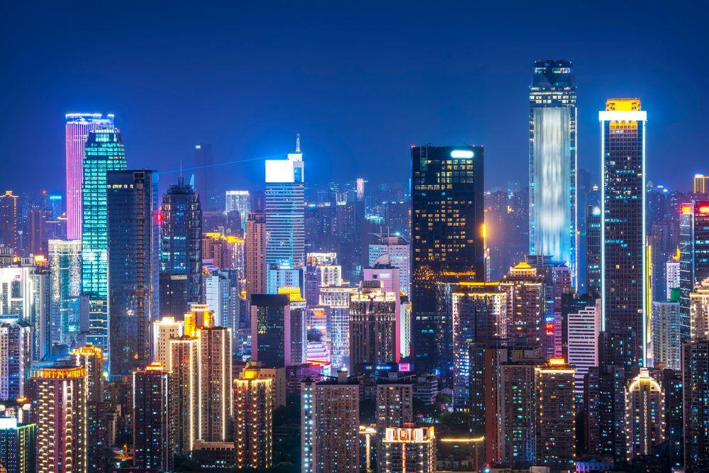 Skyscrapers in Yuzhong