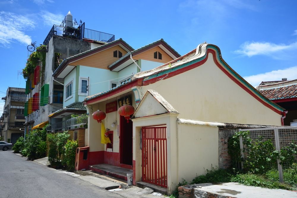 Chinese temple in Songkhla old town