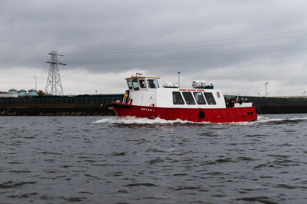 Spike Island tour boat