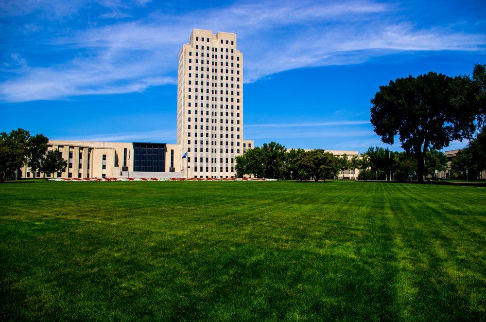 State Capitol in Bismarck