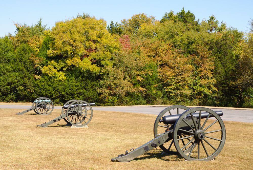 Canons at Stones River National Battlefield