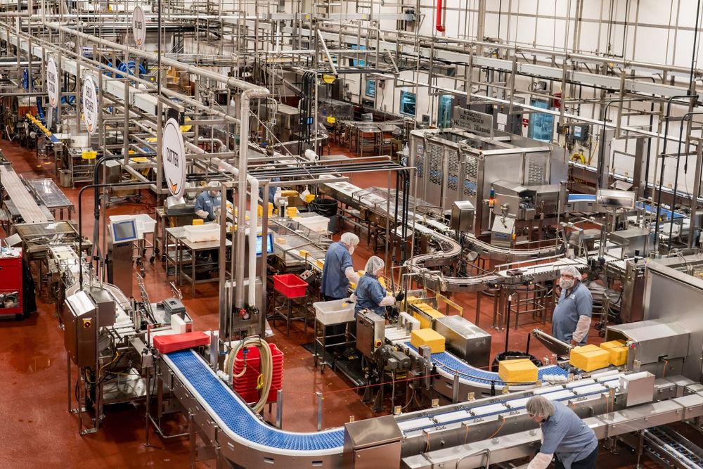 Tillamook Creamery Factory