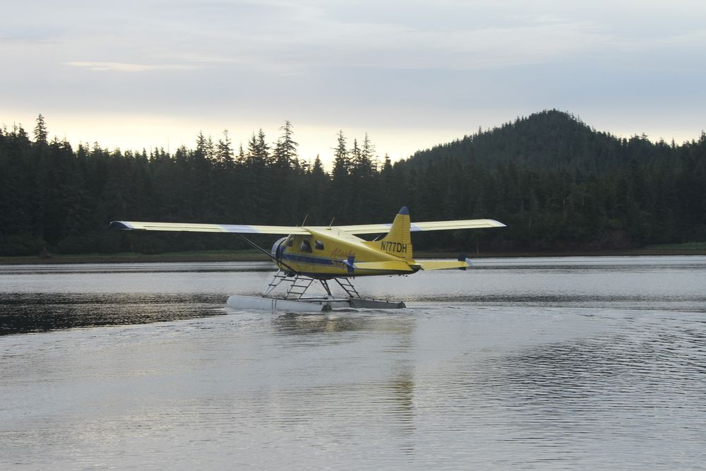 Pack creek tour in Admiralty Island
