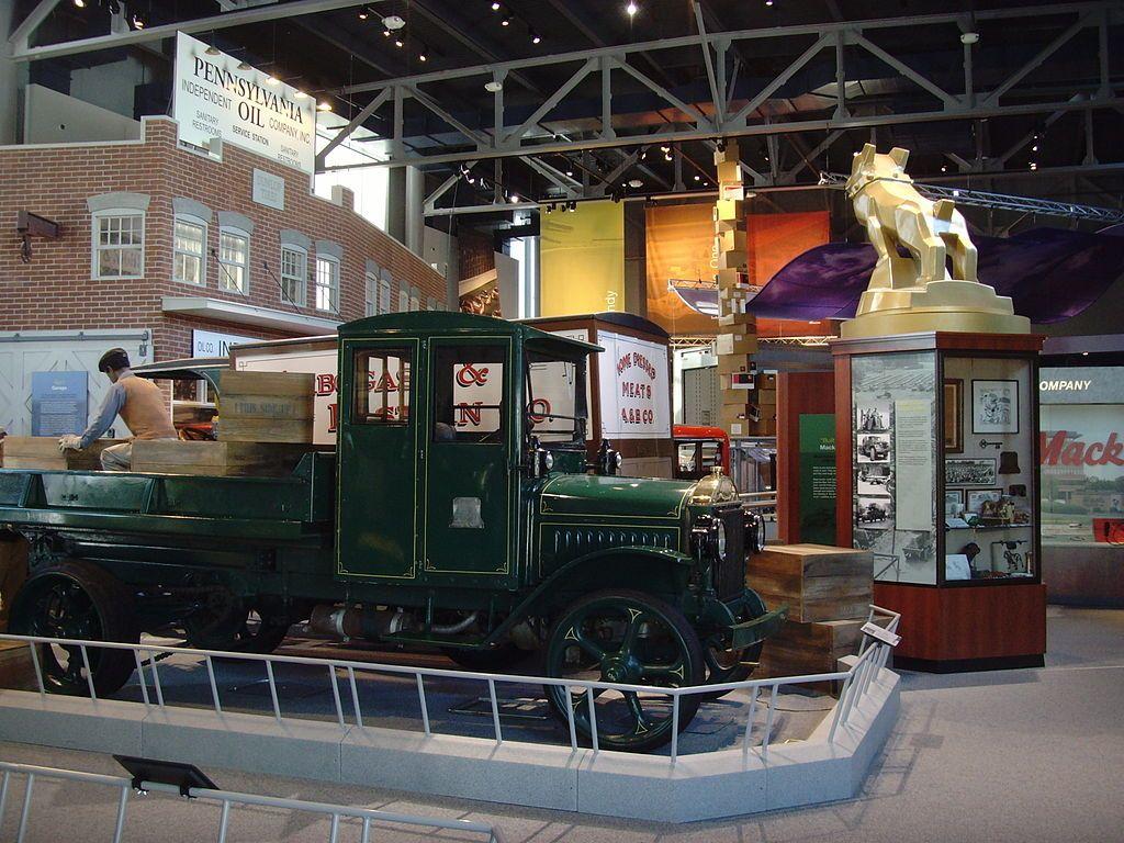 Display at America on Wheels