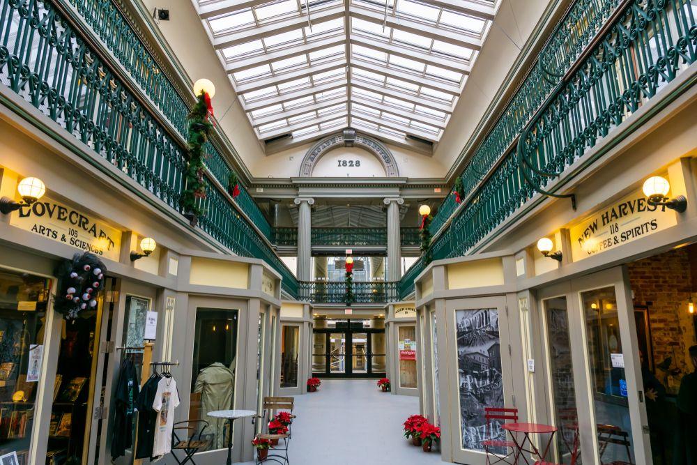 Interior of Arcade