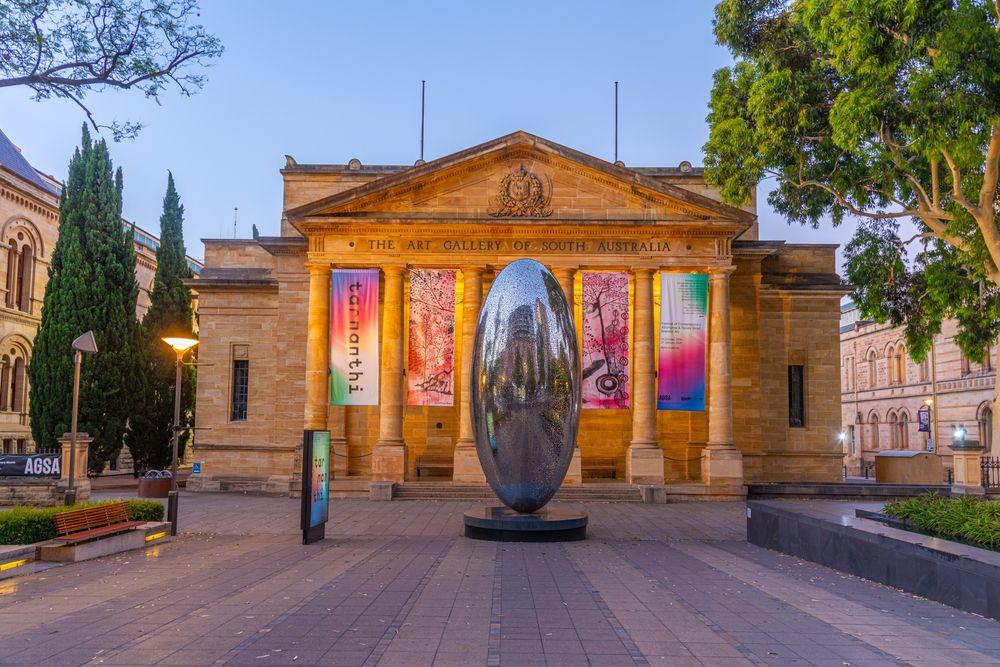 Art gallery of south Australia in Adelaide