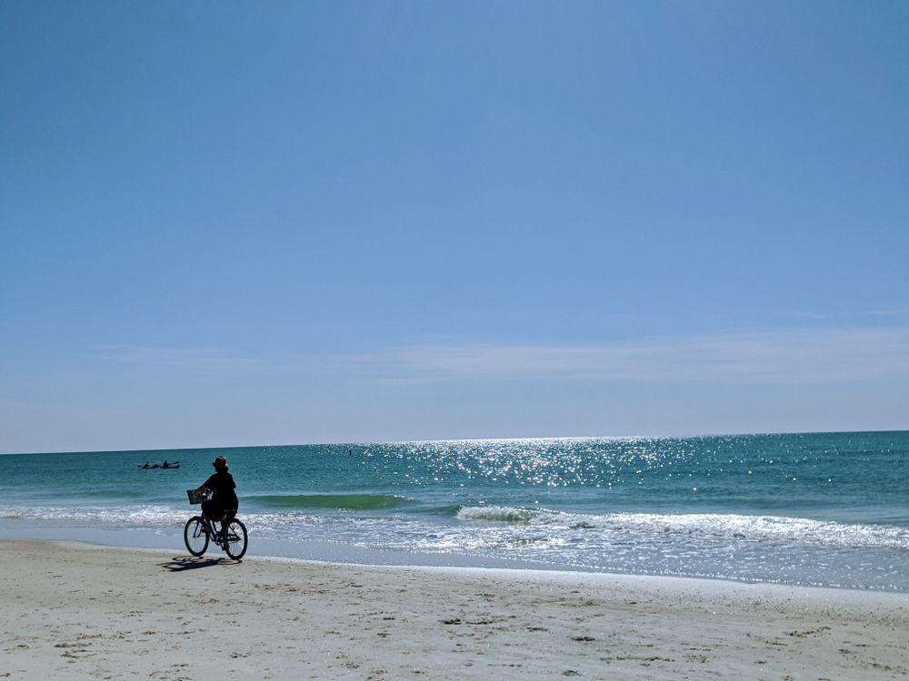 Biking in Anna Maria Island