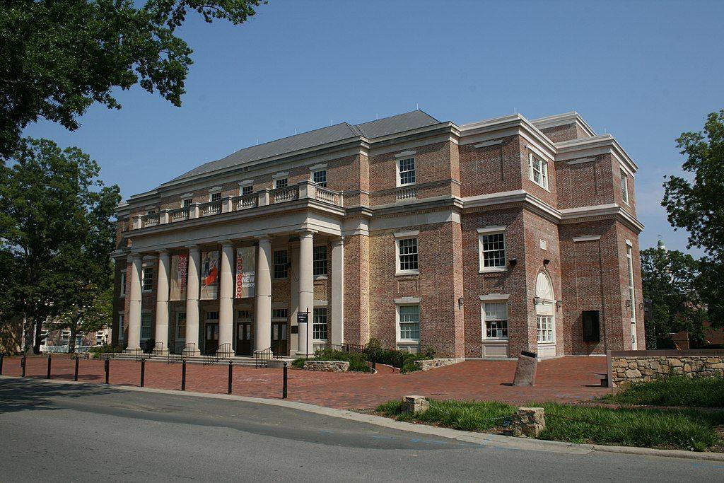 Memorial hall in Carolina Performing Arts