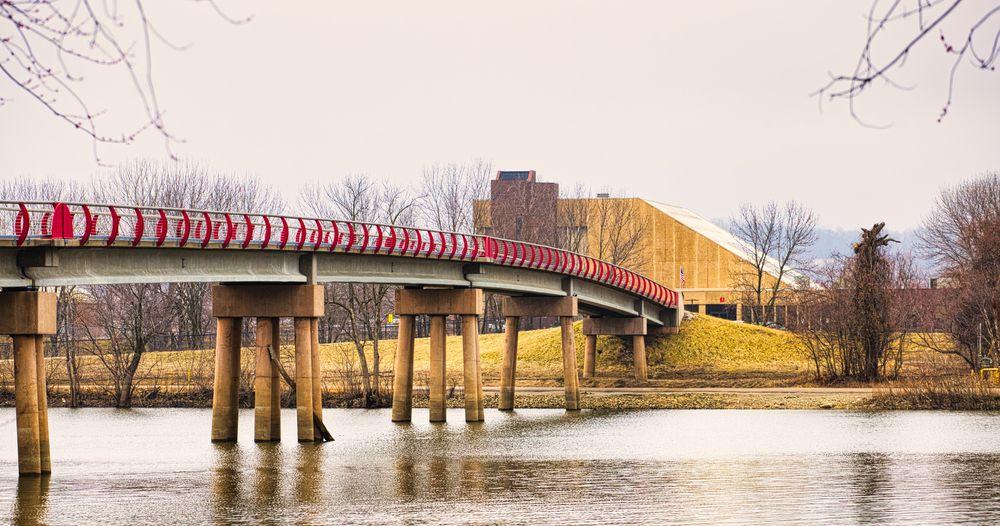 Bridge in Credit Island
