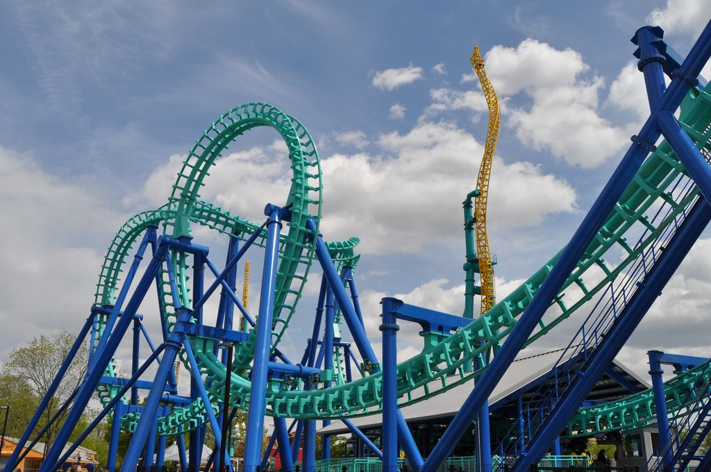 Ride in Dorney Park and the Wildwater Kingdom