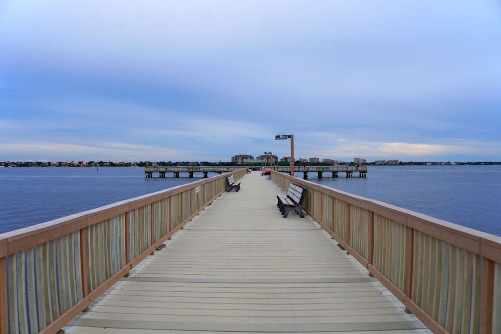 Fishing Pier in Cape Coral