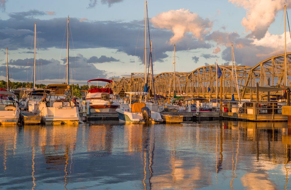 Fishing boats in Sturgeon Bay