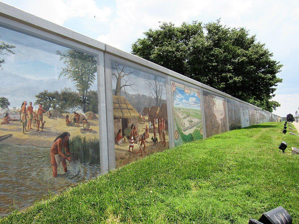Floodwall Murals